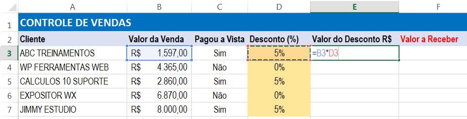 exemplo1-do-exercicio-de-porcentagem-excel- situacao 2