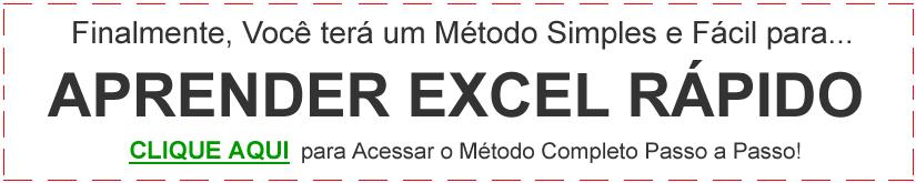 CLIQUE AQUI e Aprenda Excel Rápido com o Melhor Curso de Excel ONline.